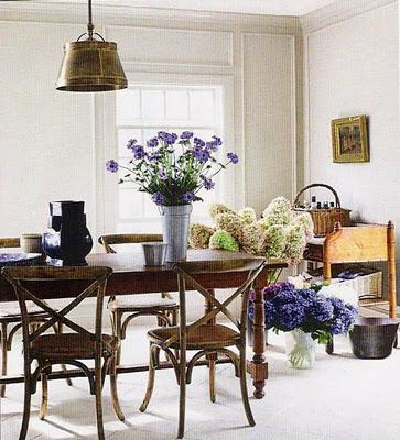 A variety of delectable dining rooms