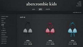 Padded Bikini Tops for 7-year-olds