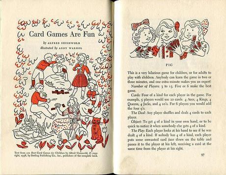 ANDY WARHOL: CARD GAMES ARE FUN