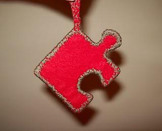 Felt Puzzle Piece