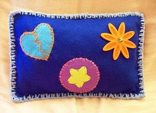 Felt Decorative Pillow – Made to order only!