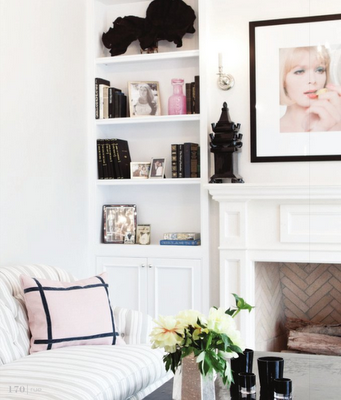 Feminine, glamorous, sweet & pretty - what our homes could look like if he didn't hate pink