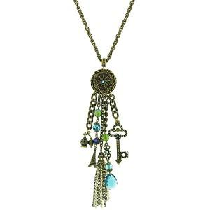 vintage charms opera length necklace