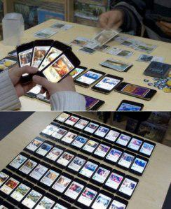 Playing Magic, The Gathering With iPhones
