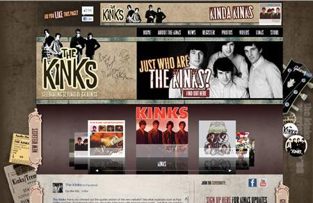 The Kinks: official website
