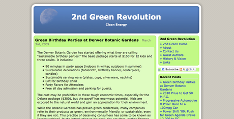 2nd Green Revolution Hits 1,000 Posts!