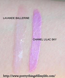 Spring Nail Polish; Lilac,Pastel shade - Chanel Lilac Sky