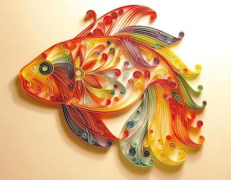 Quilling - The Art Of Turning Paper Strips Into Intricate Artworks
