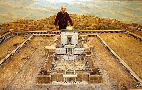 Retired Farmer Builds Scale Model Of Ancient King Herod's Temple