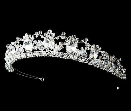 Madeleine regal inspired bridal tiara from Olivier Laudus