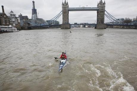 Sarah Outen Launches London2London Expedition