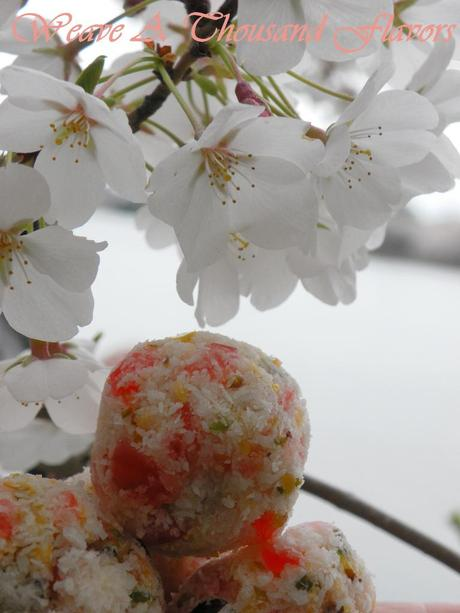 Cherry, Pistachio & Rose Water Macaroons-06