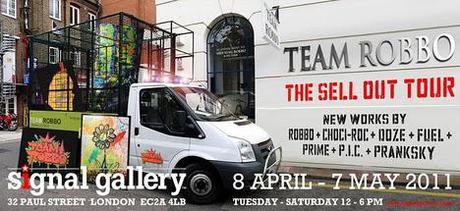 Team Robbo Exhibition — Signal Gallery