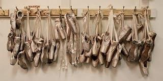 The Care and Keeping of Pointe Shoes