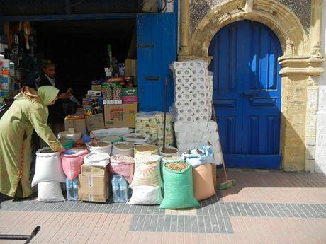 A Town of Blue Doors/Essouira/Maroc