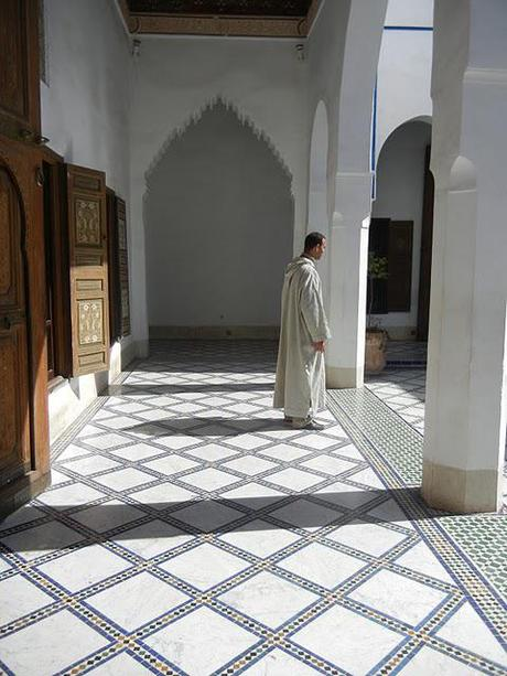 Patterns at the Palace/Morocco