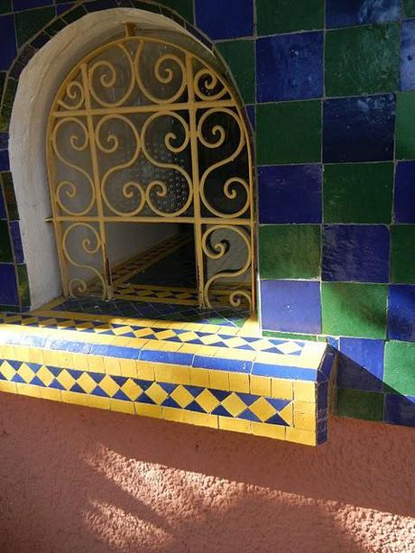 At the Jardin Majorelle/Friday
