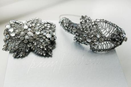 Gorgeous wedding jewellery by Jenny Packham