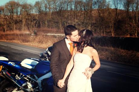 A kiss (and more motorbikes)