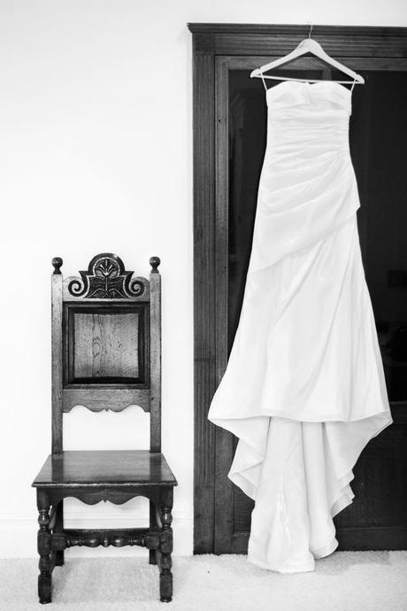 Sarah's beautiful wedding dress