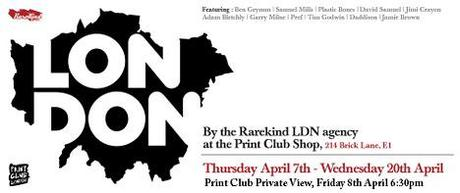 London Exhibition — Rarekind