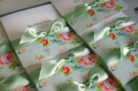 Made with love wedding invitations spring floral designs