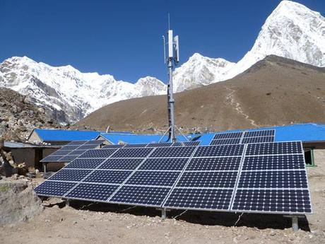 Himalaya 2011:  Everest Cell Network