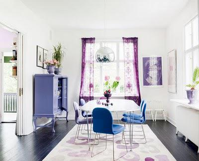A super cute Swedish abode in a mix of styles