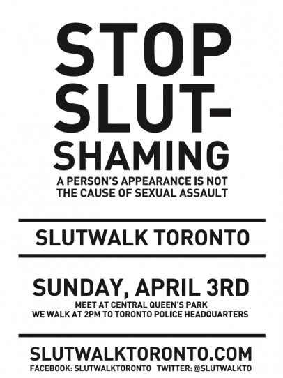 We are coming together – The Slut Walk