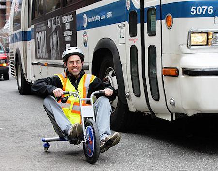 Big Wheel Vs. Bus