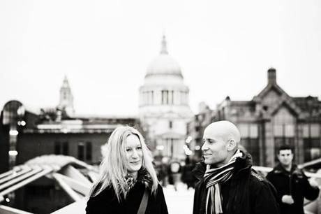 Enjoying the stroll around London