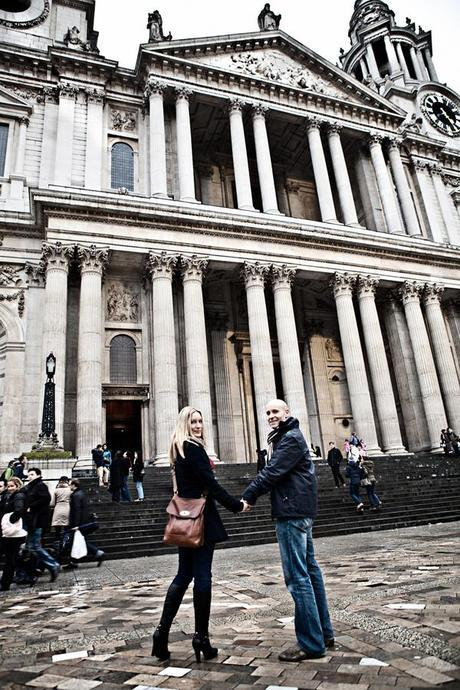 Helen and Paul will be married at the chapel of St Paul's Cathedral in a few months' time