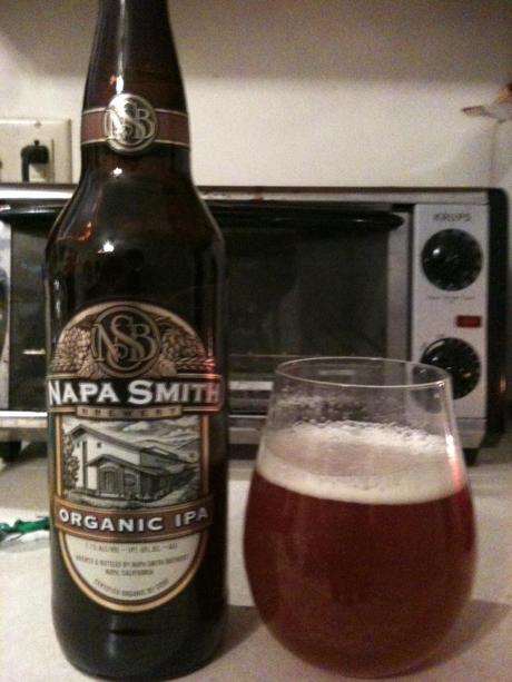 From a Valley Famous for Wine Comes Easy Drinking Napa Smith Organic IPA