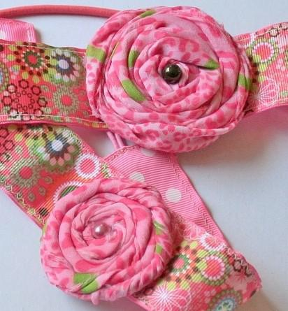 Matching Sets Reversible Headbands