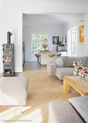 A super chic and mod mix in a North Copenhagen home