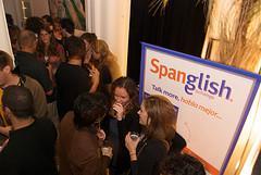 Spanglish crowd