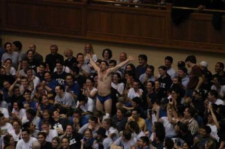 Taunting Works. Meet Free Throw Guy, Duke's next Director of Cheer-Sheet Coordination