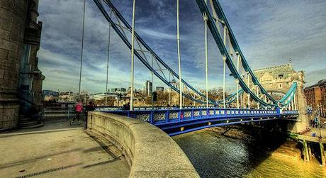 Panoramic HDR Photo Of Tower Bridge, London