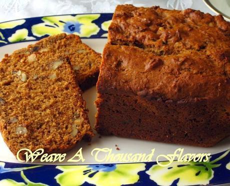 English Breakfast Tea, Date & Walnut Cake