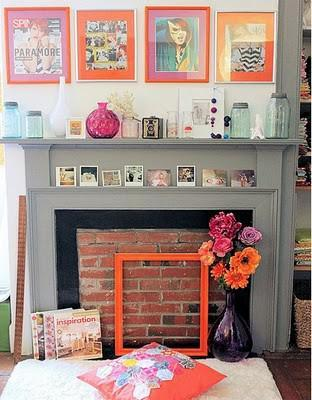 DIY Faux Fireplaces