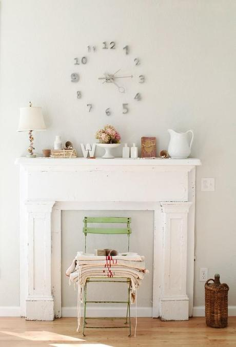 DIY Faux Fireplaces
