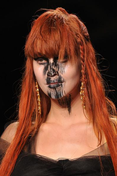 Vivienne+Westwood Paris Fashion Week A/W 2011 Beauty Roundup