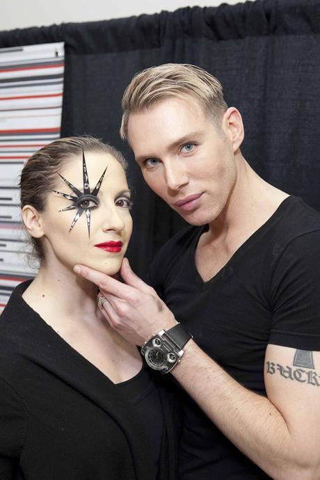 kristofer buckle The Makeup Show LA 2011 Recap