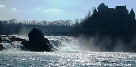 Rhein Falls in Schaffhausen Switzerland