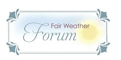 Fair Weather Forum: Spring Decorating and Cleaning