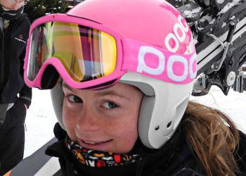 Honor Clissold - number one skier in her age group