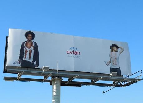 Live Young with Evian Billboards