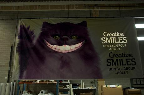 Disappearing Cat for Creative Smiles Dental Group