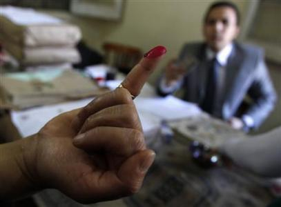 To vote like an Egyptian