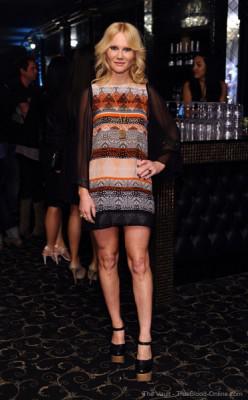 Tara Buck attends ELLE's Women In Music Concert Event